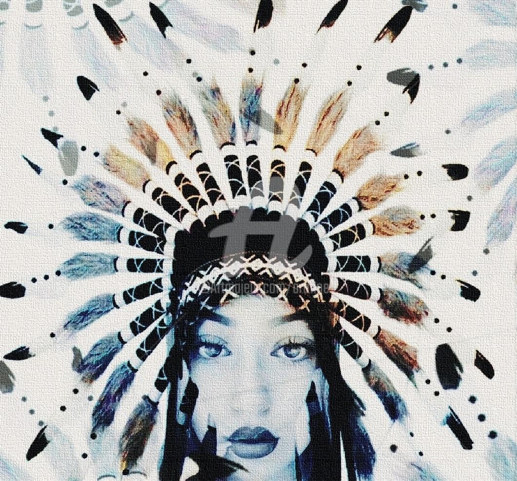 Art Moé - Indio Girl