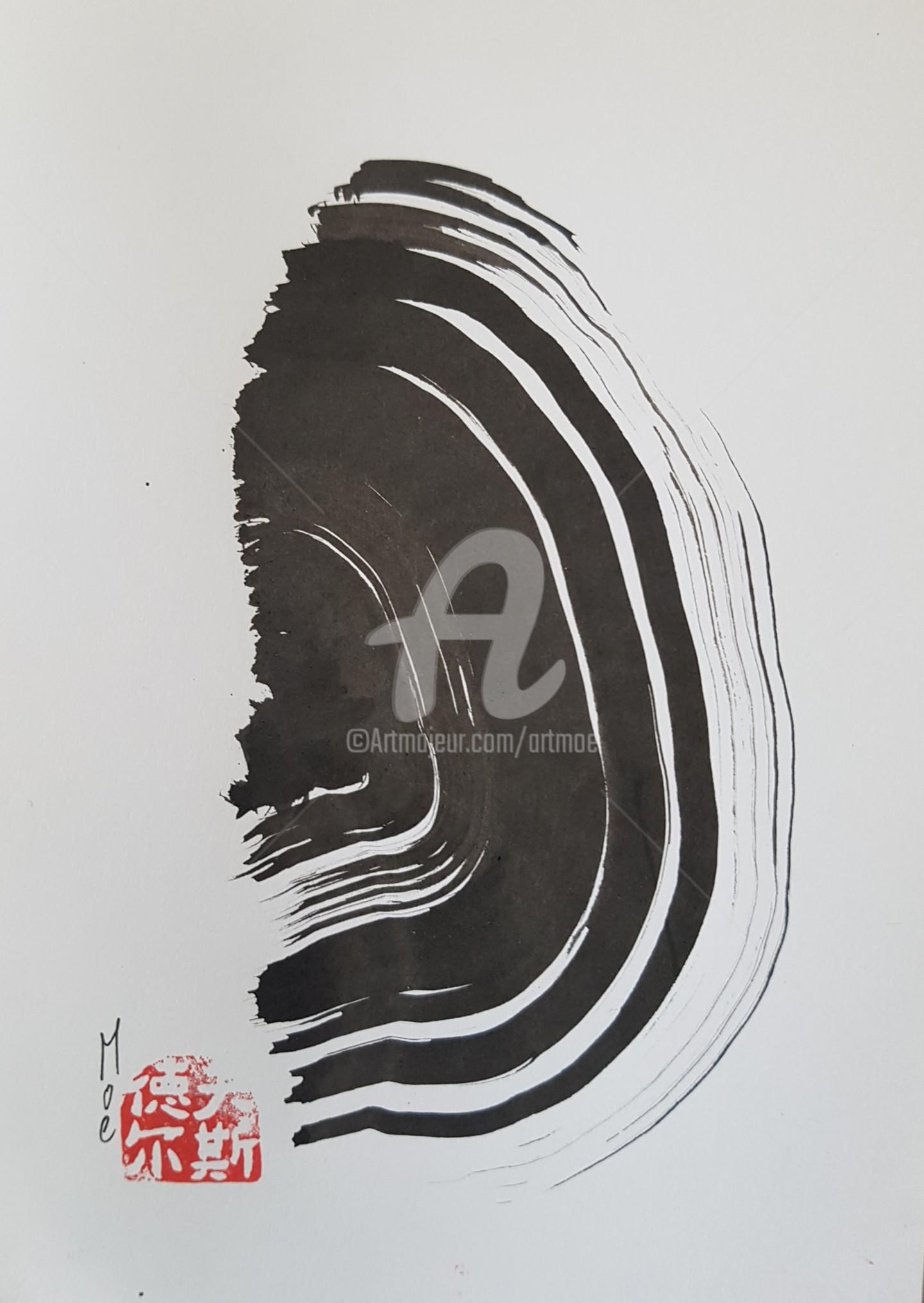 Art Moé - Sumi e Contemporary #4