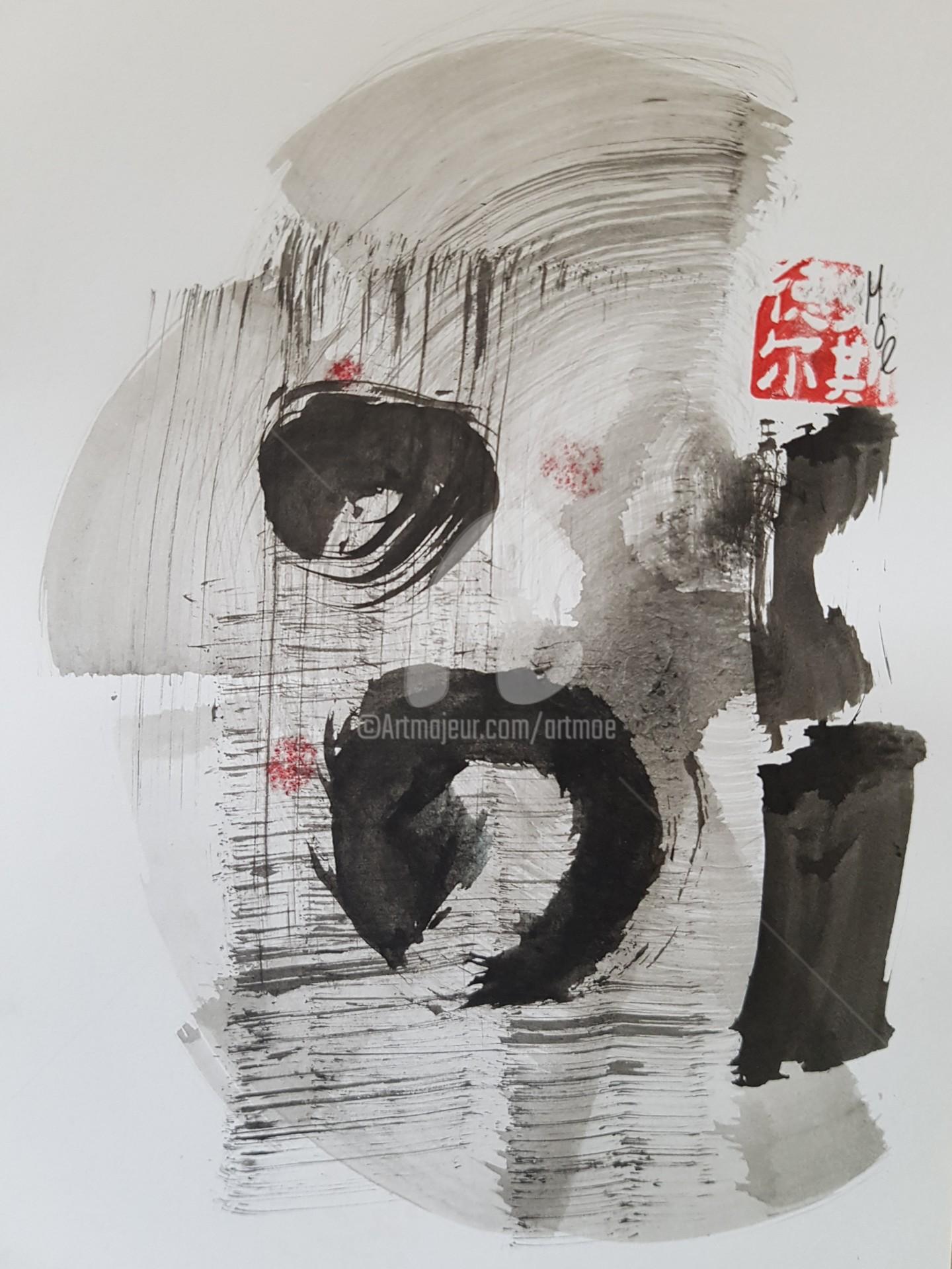 Art Moé - Sumi e Contemporary #8