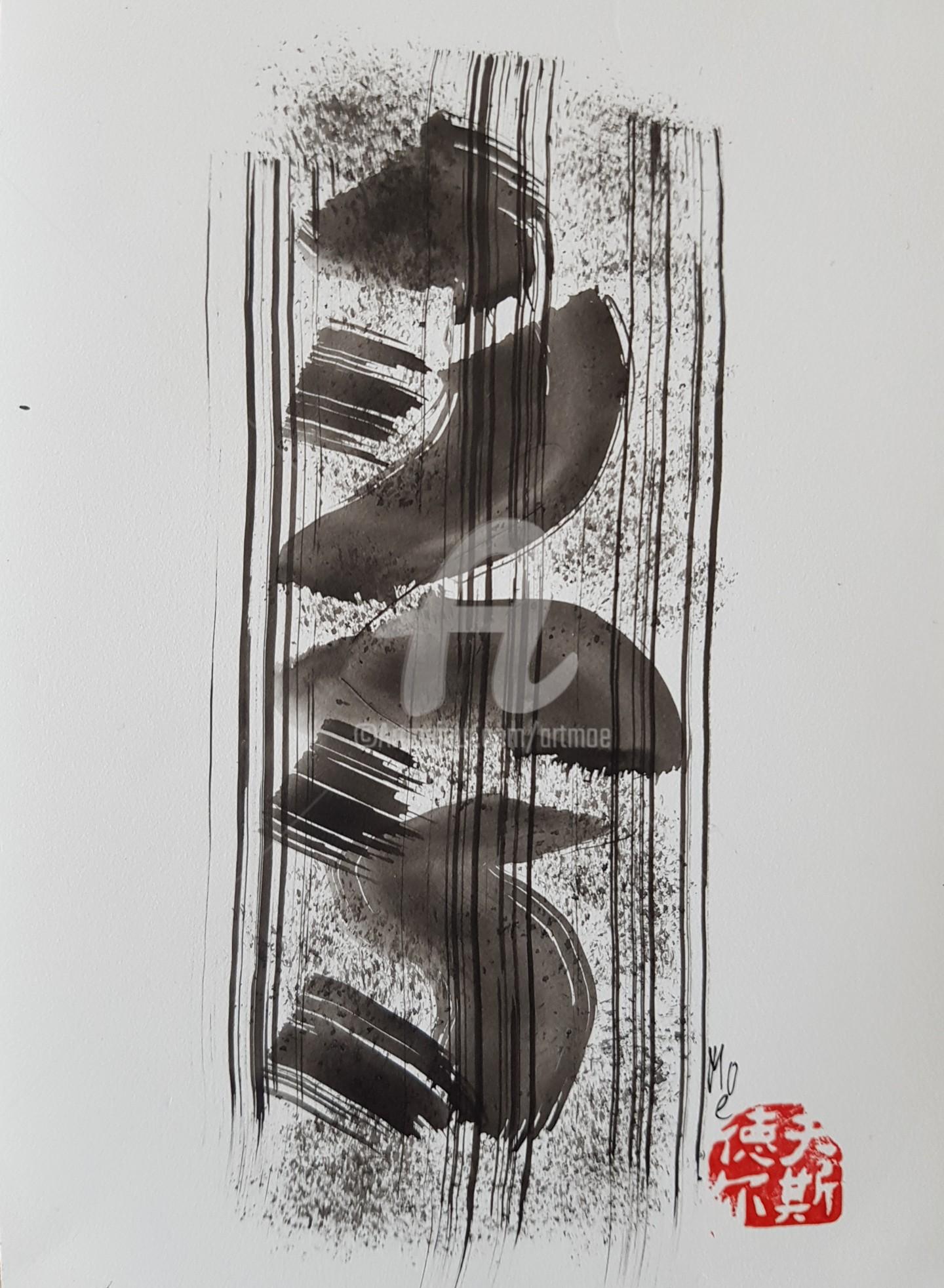 Art Moé - Sumi e Contemporary #10
