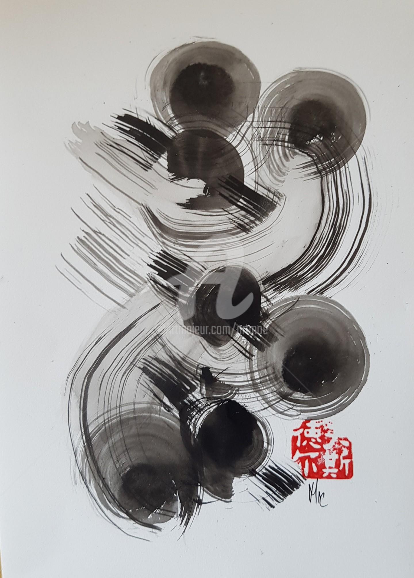Art Moé - Sumi e Contemporary #11