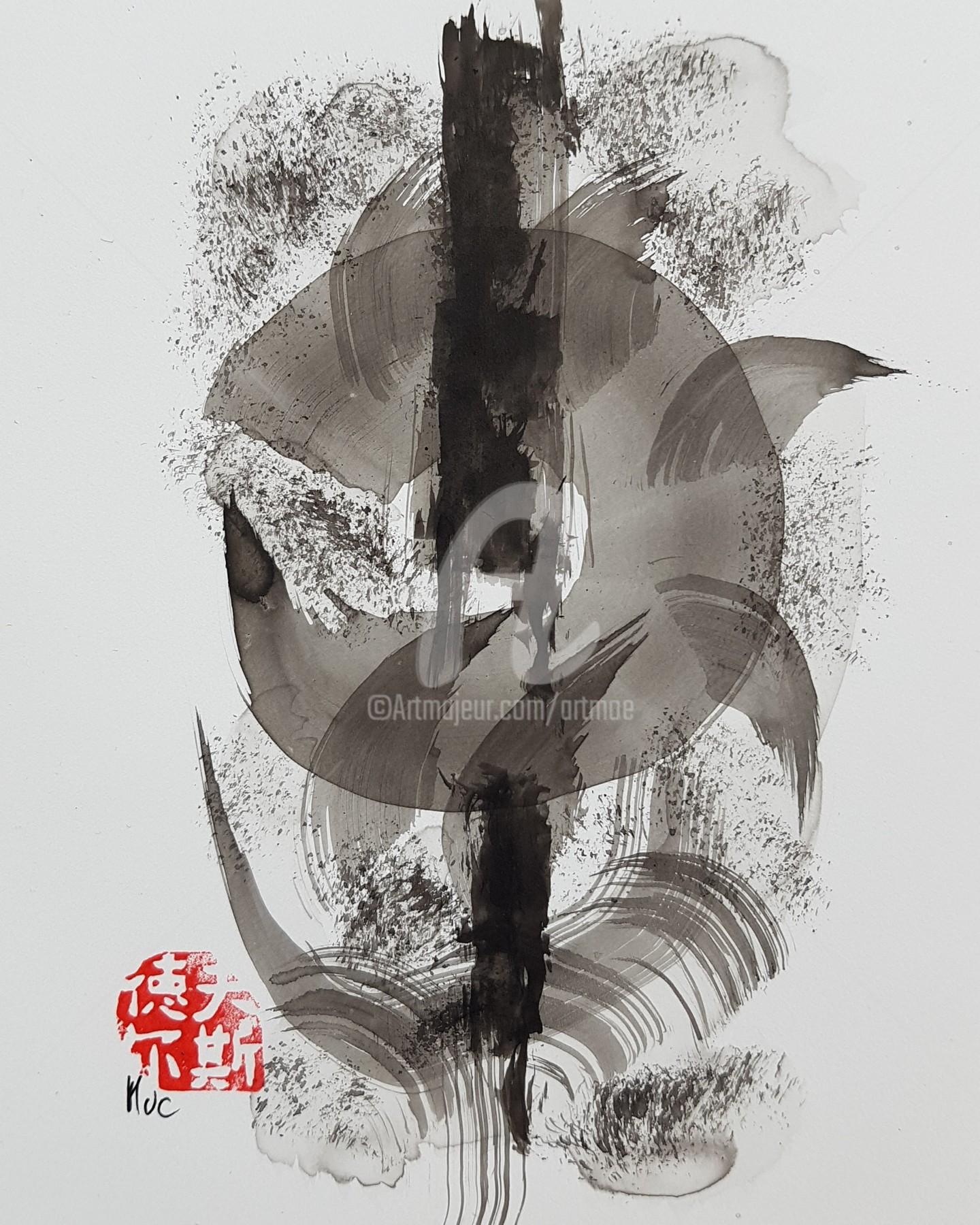 Art Moé - Sumi e Contemporary #12