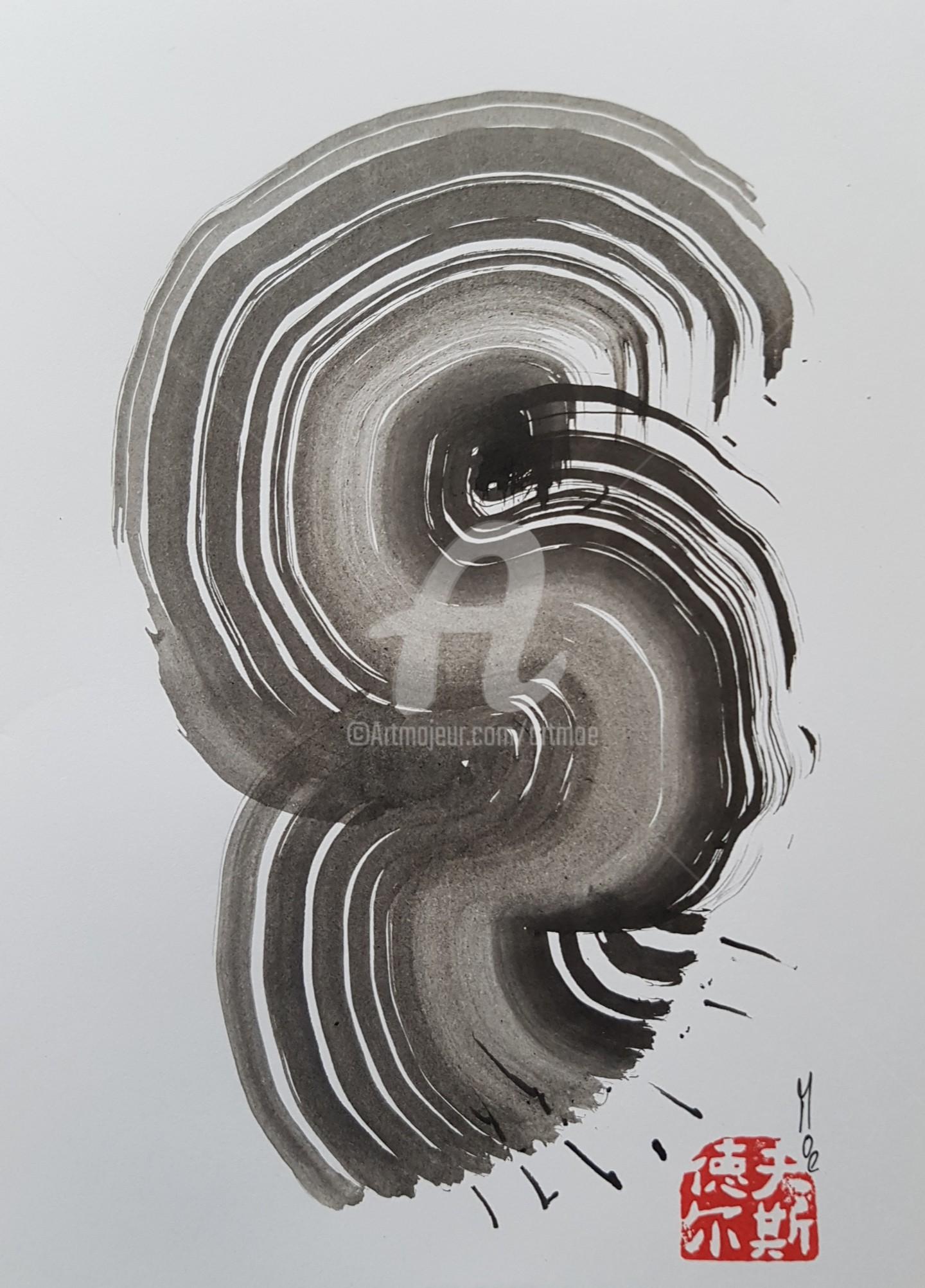 Art Moé - Sumi e Contemporary #13