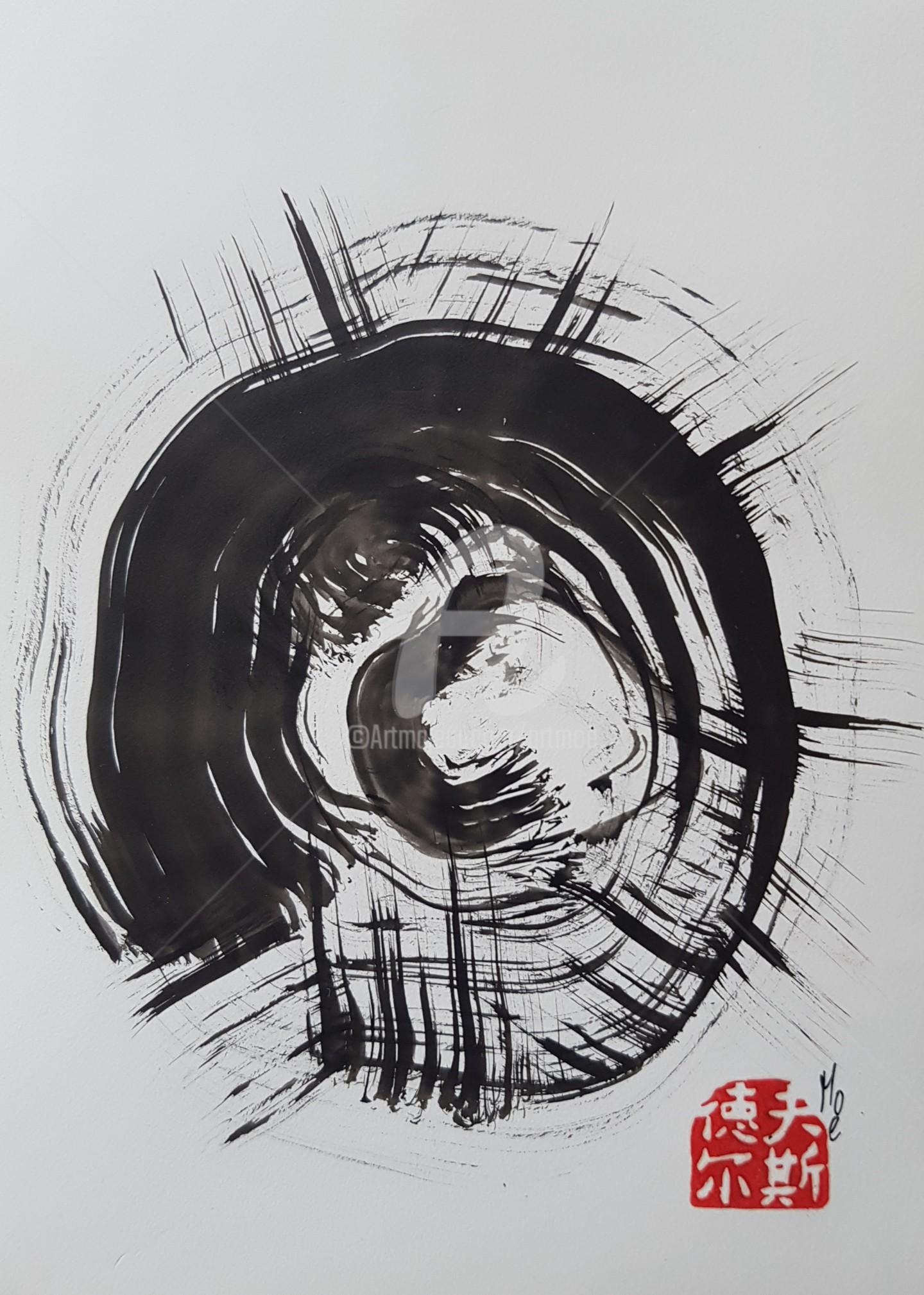 Art Moé - Sumi e Contemporary #14
