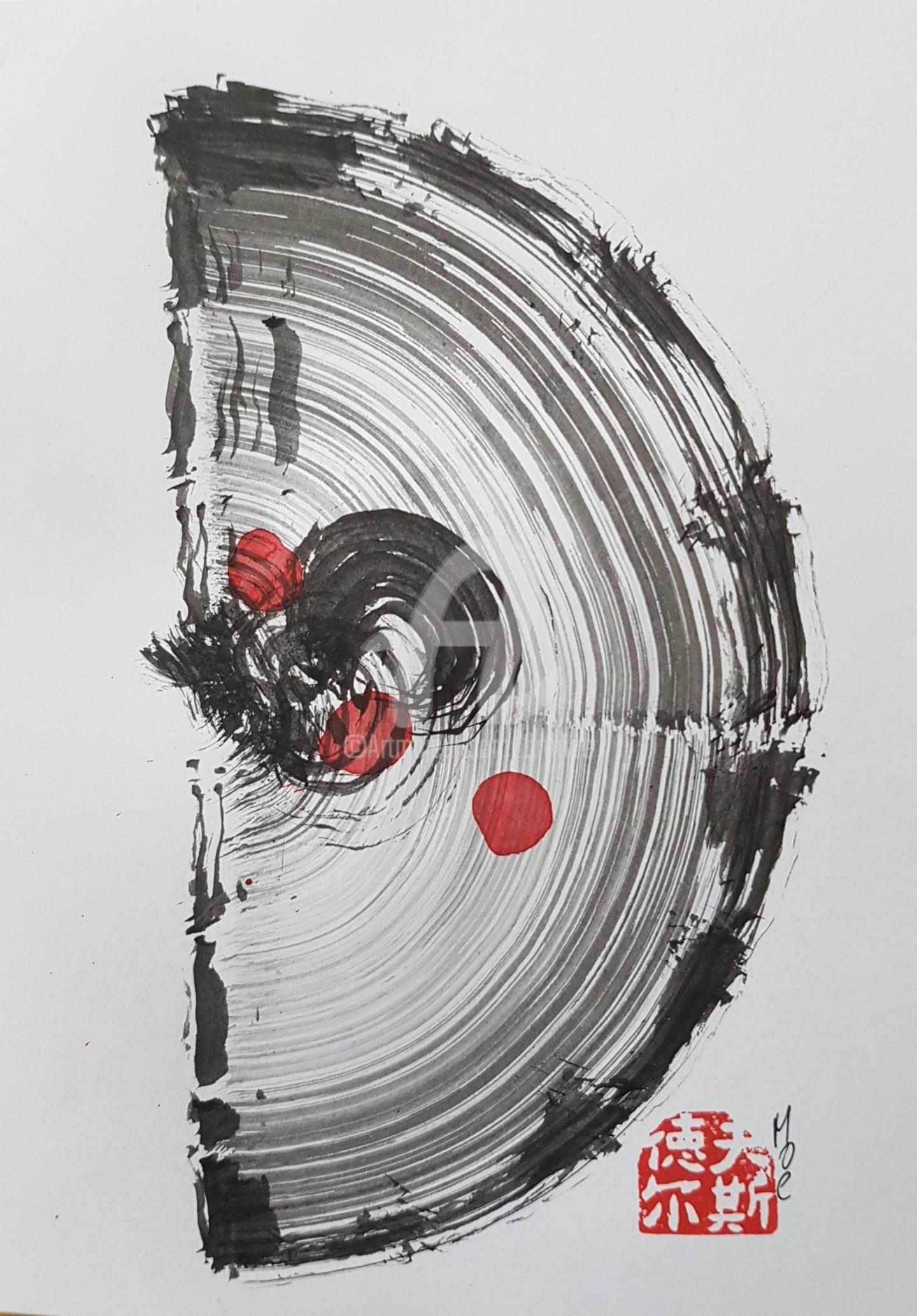 Art Moé - Sumi e Contemporary #15