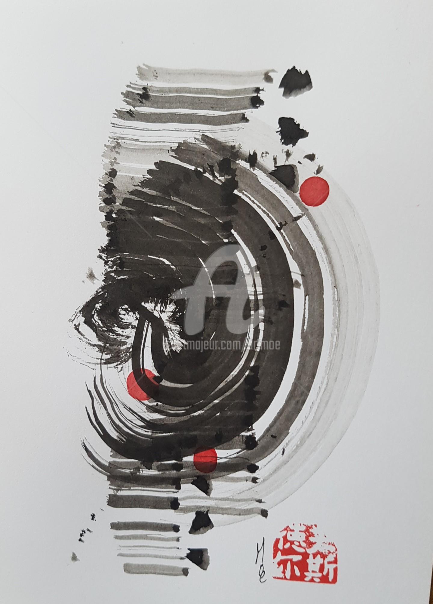 Art Moé - Sumi e Contemporary #17